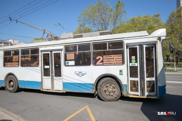 Сейчас в Ростове работают девять троллейбусных маршрутов