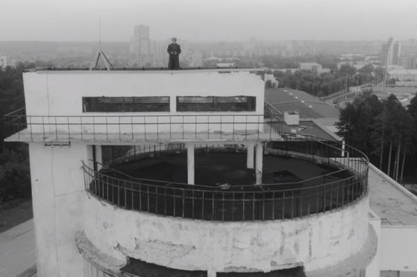 Лидер «Курары» Олег Ягодин на Белой башне