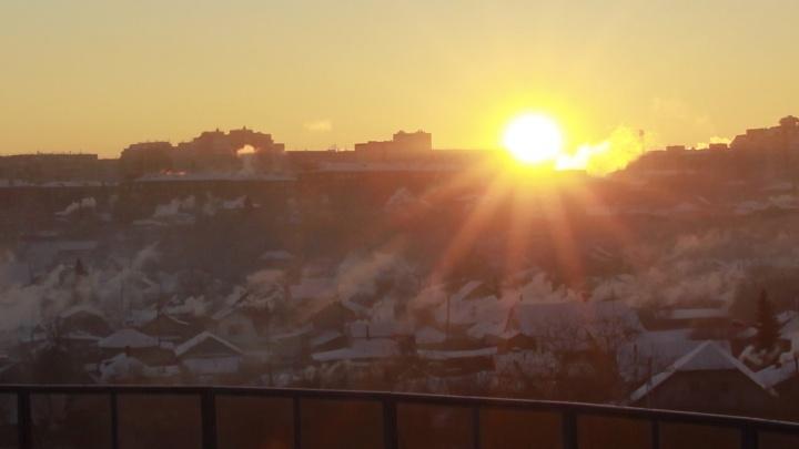 В МЧС посоветовали омичам не выходить на улицу из-за выбросов