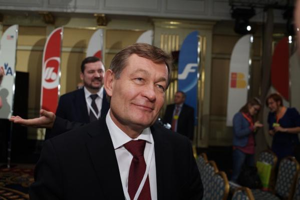 Награды получили не только новосибирцы, но и живущий в Москве гендиректор S7 (на фото)