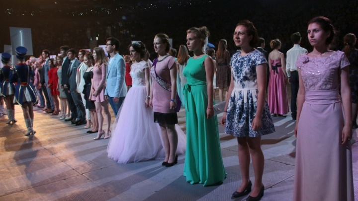 Ярославские выпускники зажгли со звёздами эстрады