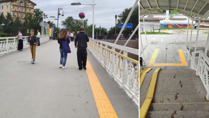 Тюменец сделал предложение своей девушке. Услышав ответ, он спрыгнул с моста Влюбленных