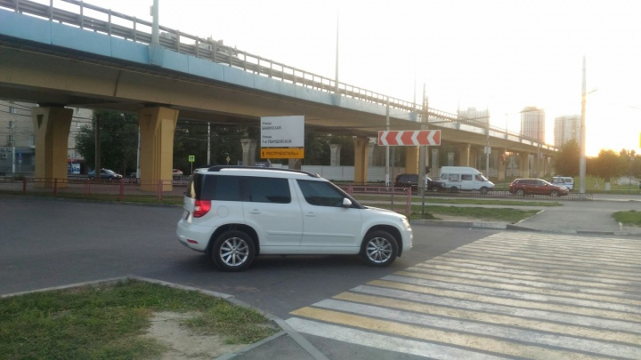 Волгоградцам открыли съезд к проспекту Ленина с «танцующего» моста