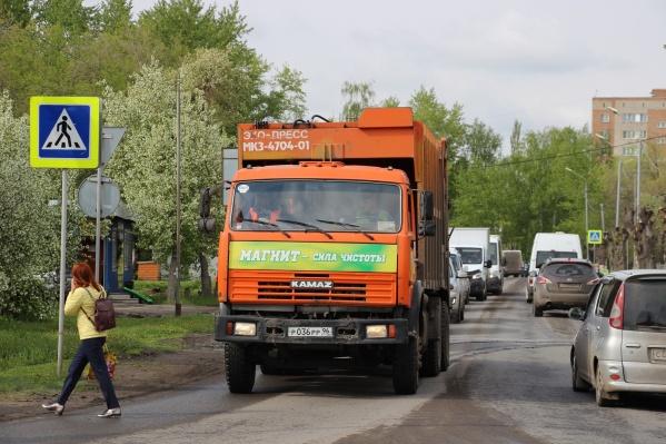 С сегодняшнего дня крупная омская компания «Чистый город» остановила работу
