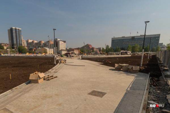 На эспланаде появится парк и сооружения для отдыха