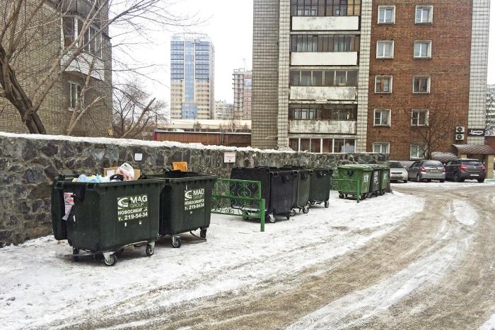 Гринпис подсчитал, что контейнеры для раздельного сбора мусора есть рядом с домом у 57% новосибирцев