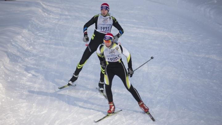 В Белорецке состязались горнолыжники со всей России