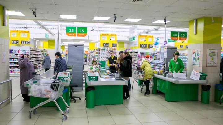 В гипермаркетах Красноярска начали появляться тележки для покупателей с собаками
