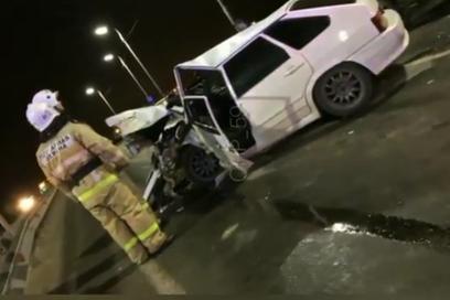 В аварии на трассе Пермь — Усть-Качка пострадали шесть человек