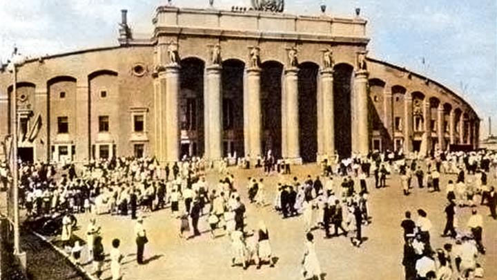 За сто лет до ЧМ: Центральный стадион, который построили пленные немцы и испортила рота солдат