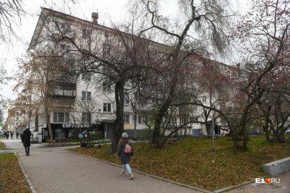 Пятиэтажка на Толмачева — самый близкий к Приборостроительному заводужилой дом