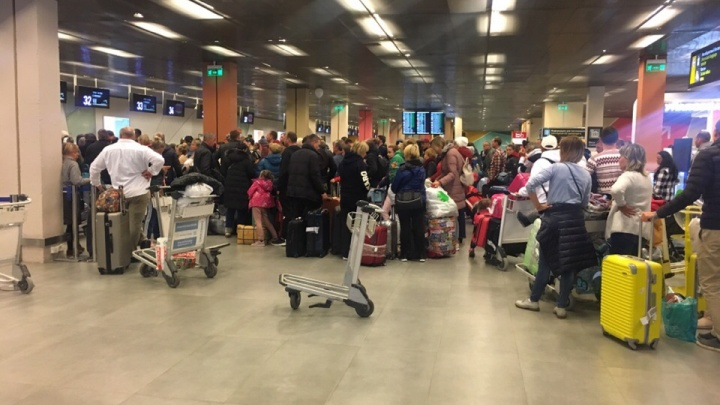 «Сели не в том бурге»: пассажиры рейса Пхукет — Санкт-Петербург приземлились в Кольцово