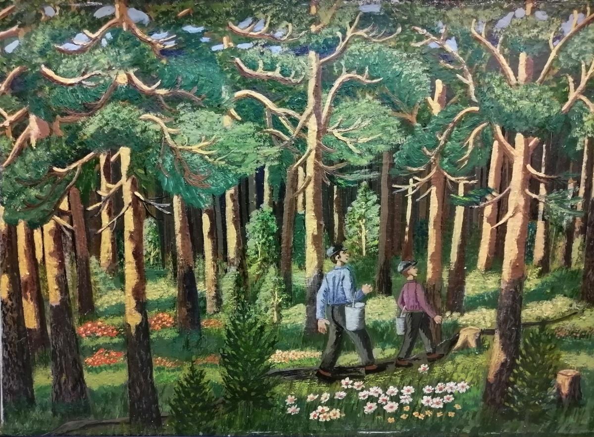 «Утро в сосновом лесу», 1978 год