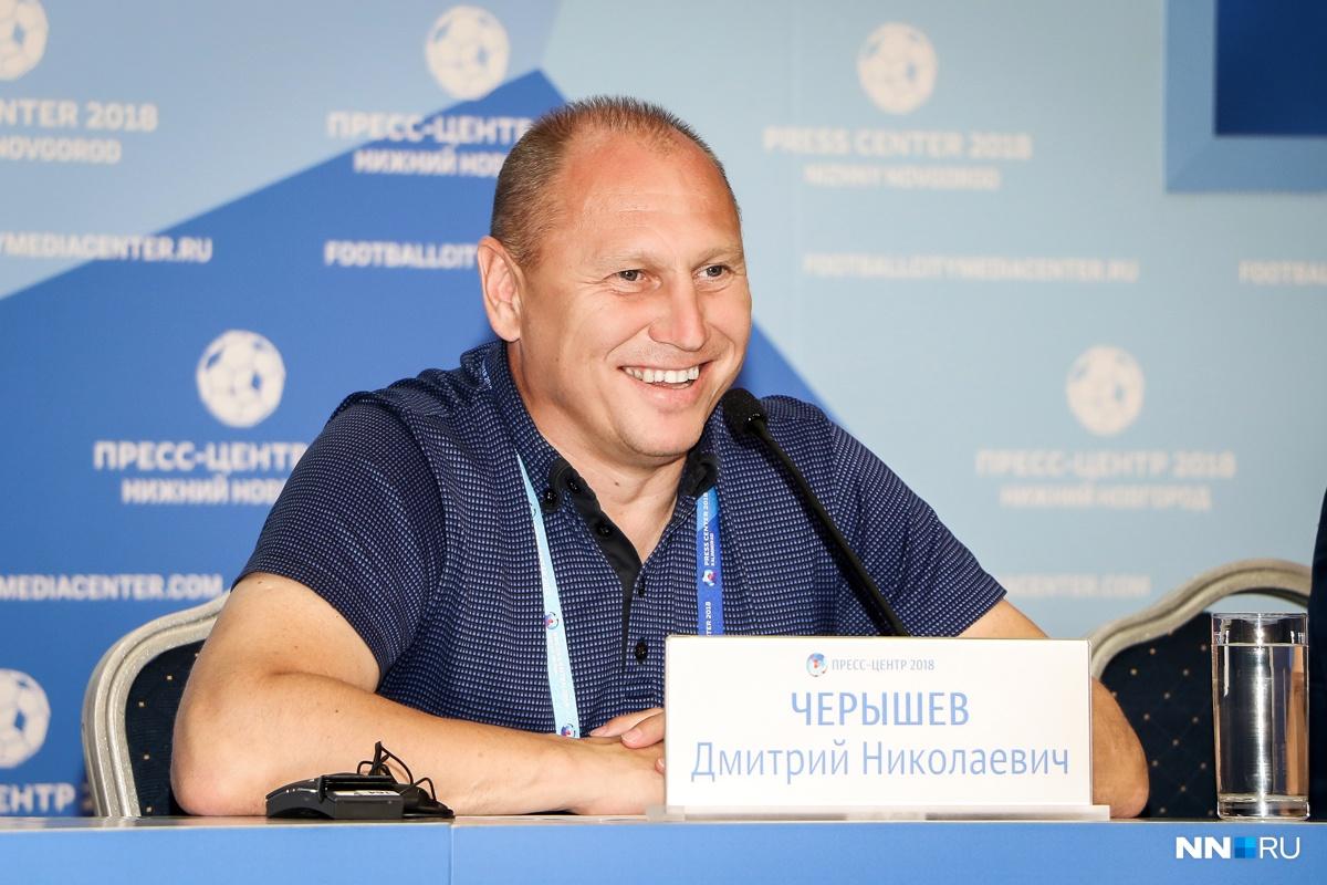 Дмитрий Черышев переживает из-за слабой игры своей команды