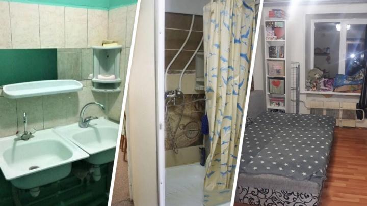 Туалет в комнате, душ в шкафу: глядим на пять квартир стоимостью меньше миллиона рублей в Уфе