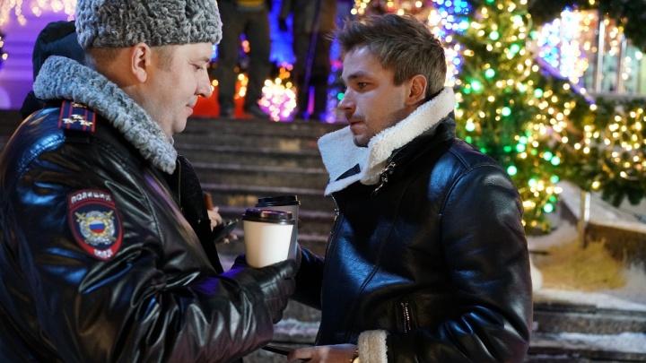 Появились кадры, постер и синопсис картины «Полицейский с Рублевки. Новогодний беспредел»