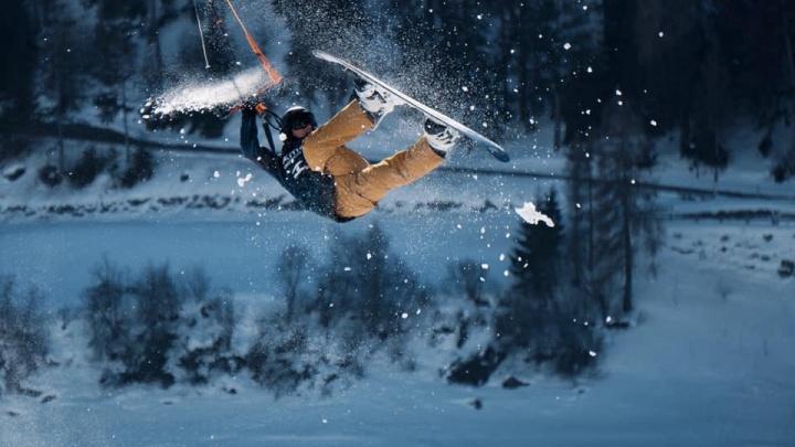 Семья уральских экстремалов завоевала три золота и серебро на чемпионате Европы по сноукайтингу
