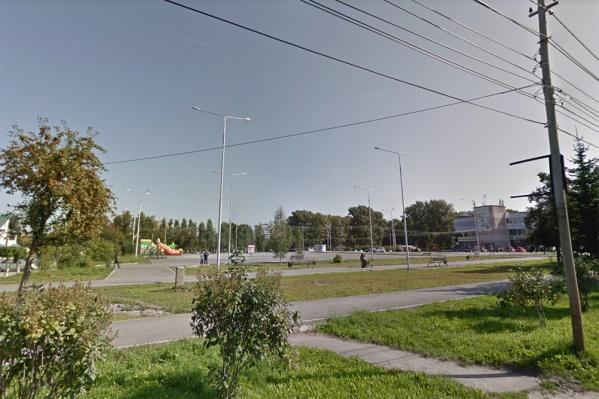 Надпись появилась накануне в Бердске перед городской администрацией