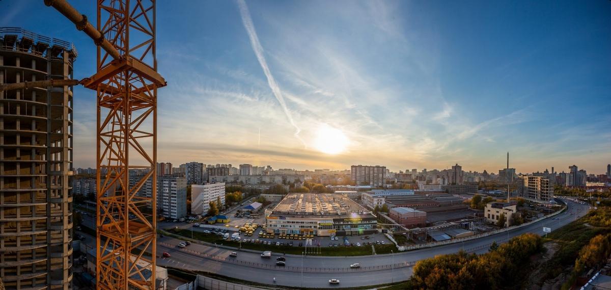 Даже с нижних этажей открывается эффектный панорамный вид на парк или на центр города— что уж говорить про верхние
