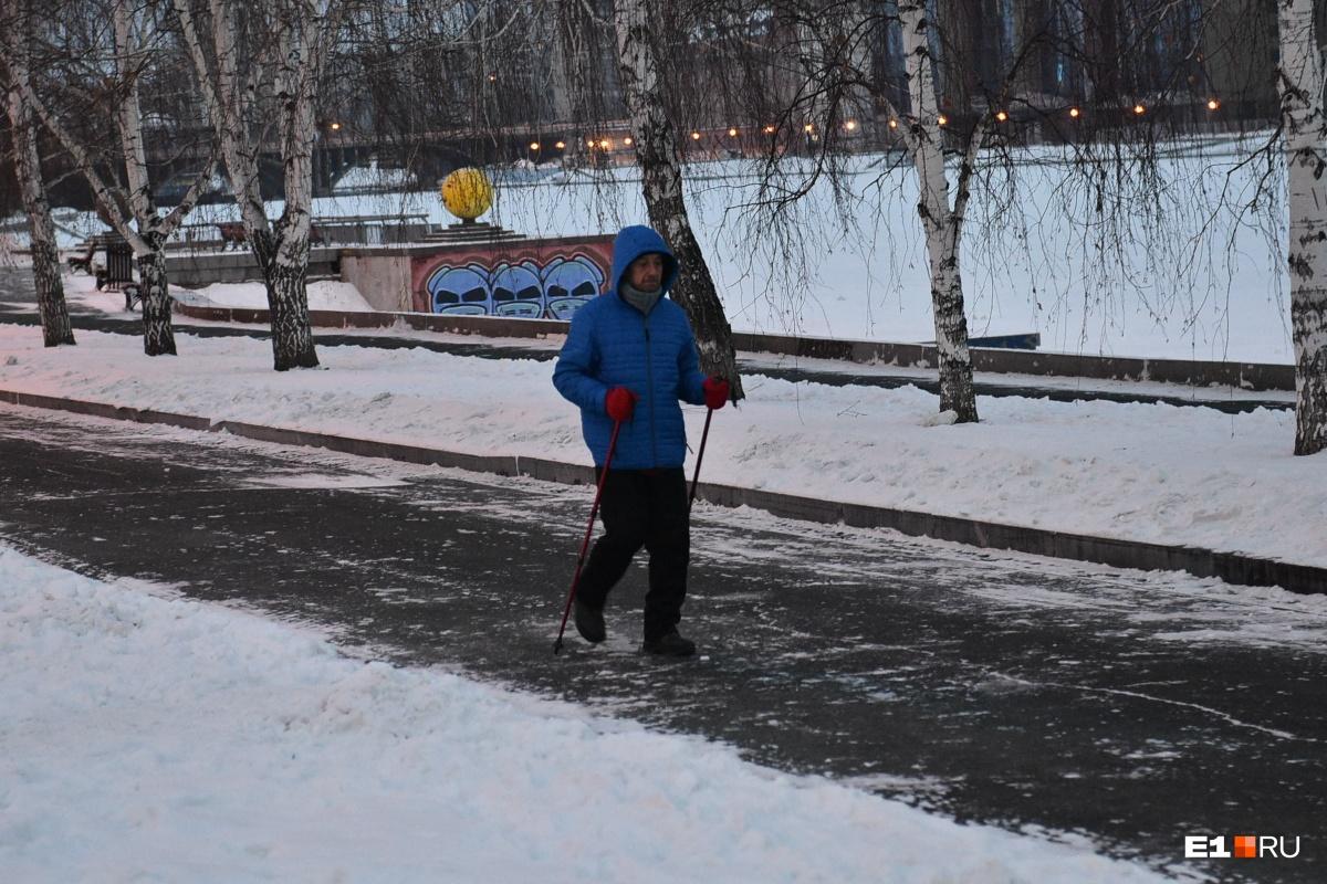 Герой же — выйти на прогулку ранним утром 1 января