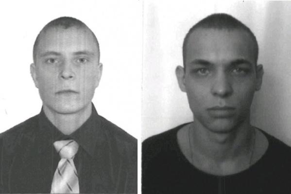 Роман Смородов (слева) и Анатолий Машанин (справа) сбежали, вскрыв решётку на втором этаже больницы