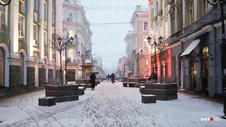 Настоящая зима: самые красивые фотографии ростовского снегопада в объективе 161.RU