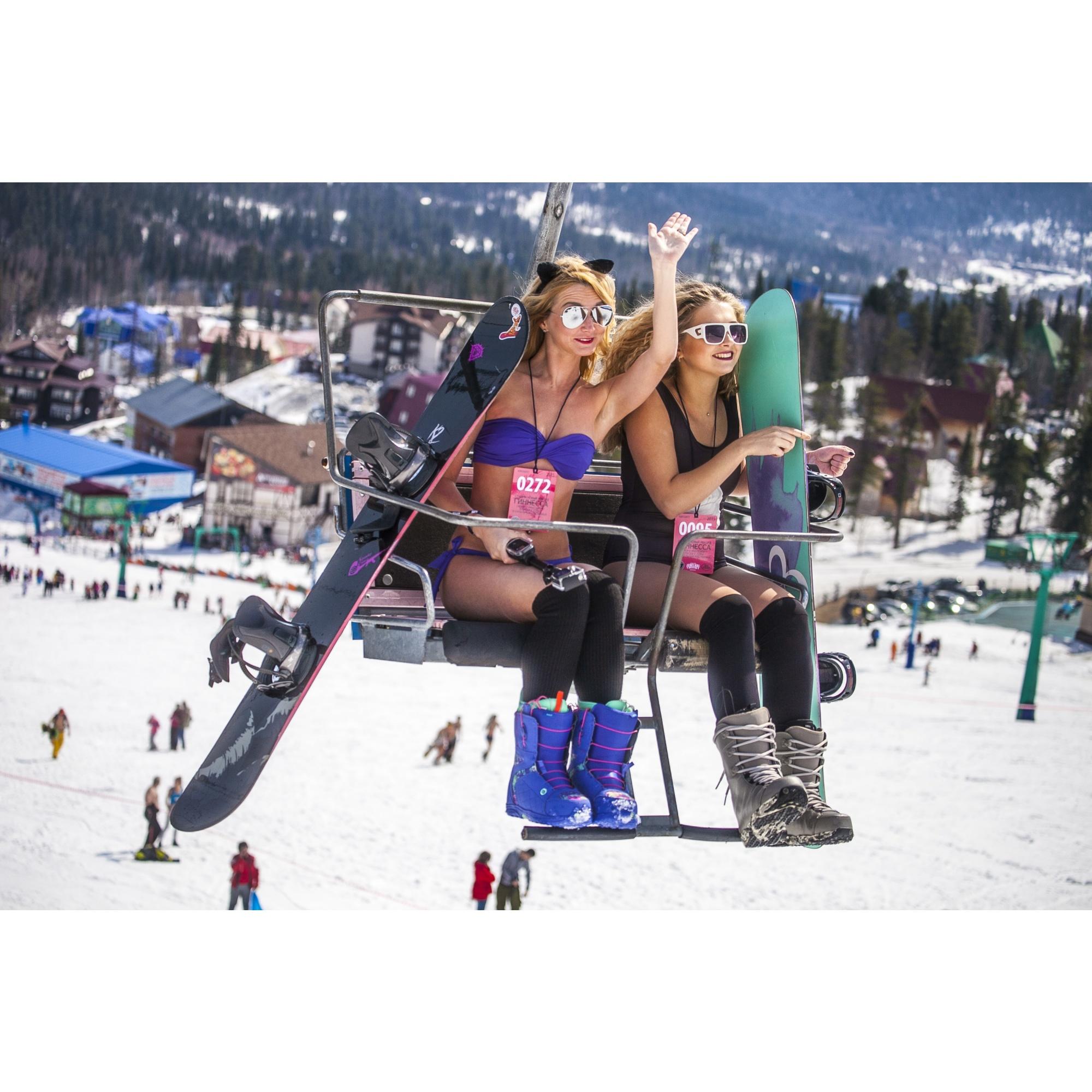 В день открытия сезона в Шерегеше пройдёт баттл «Кто круче» между сноубордистами и горнолыжникми