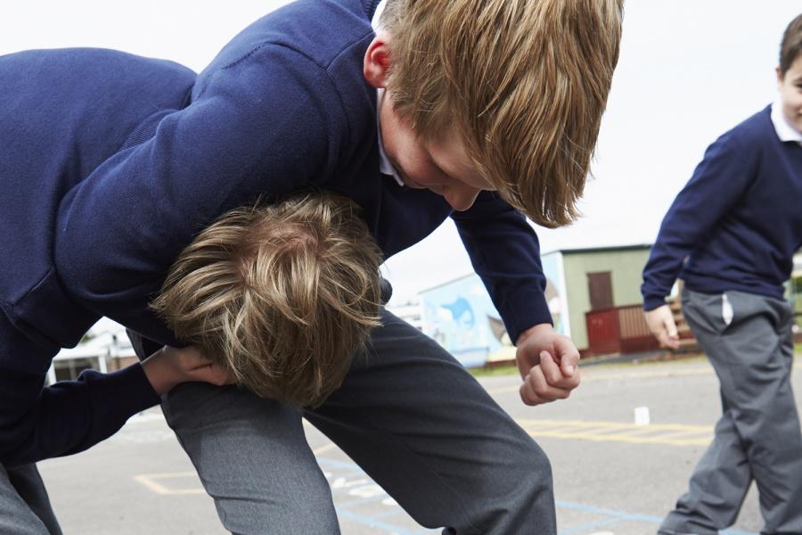 Второклассники вмасках сосвастикой пытались выбросить девочку изокна