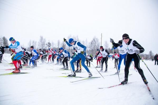 Всероссийская гонка на лыжах ежегодно проходит во вторые выходные воскресенья