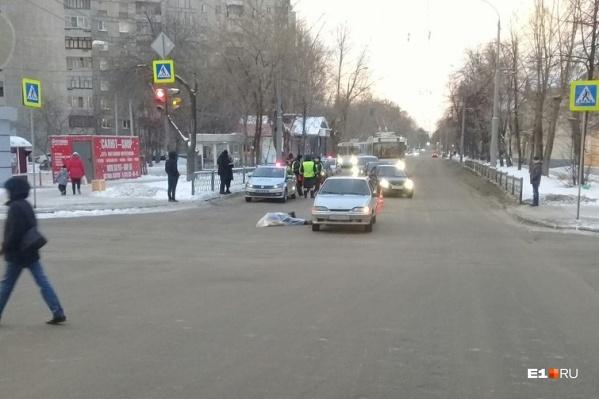 В аварии погиб пешеход