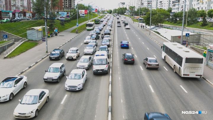До конца недели в Красноярске будет частично перекрыт Копыловский мост