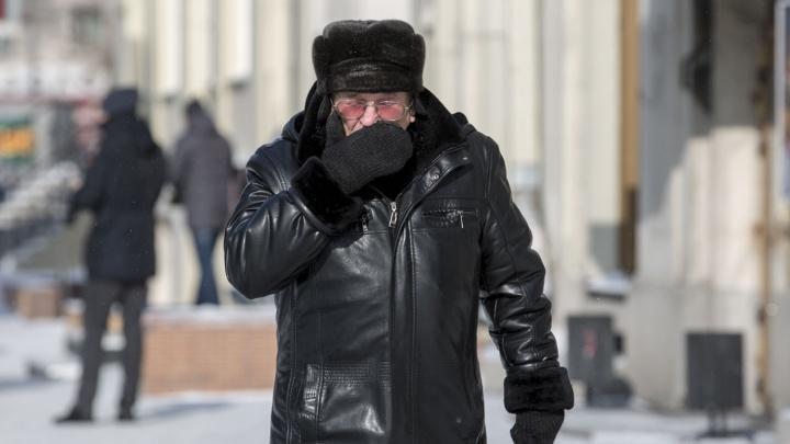 «Произошло арктическое вторжение»: синоптики рассказали, когда из Новосибирска уйдут морозы