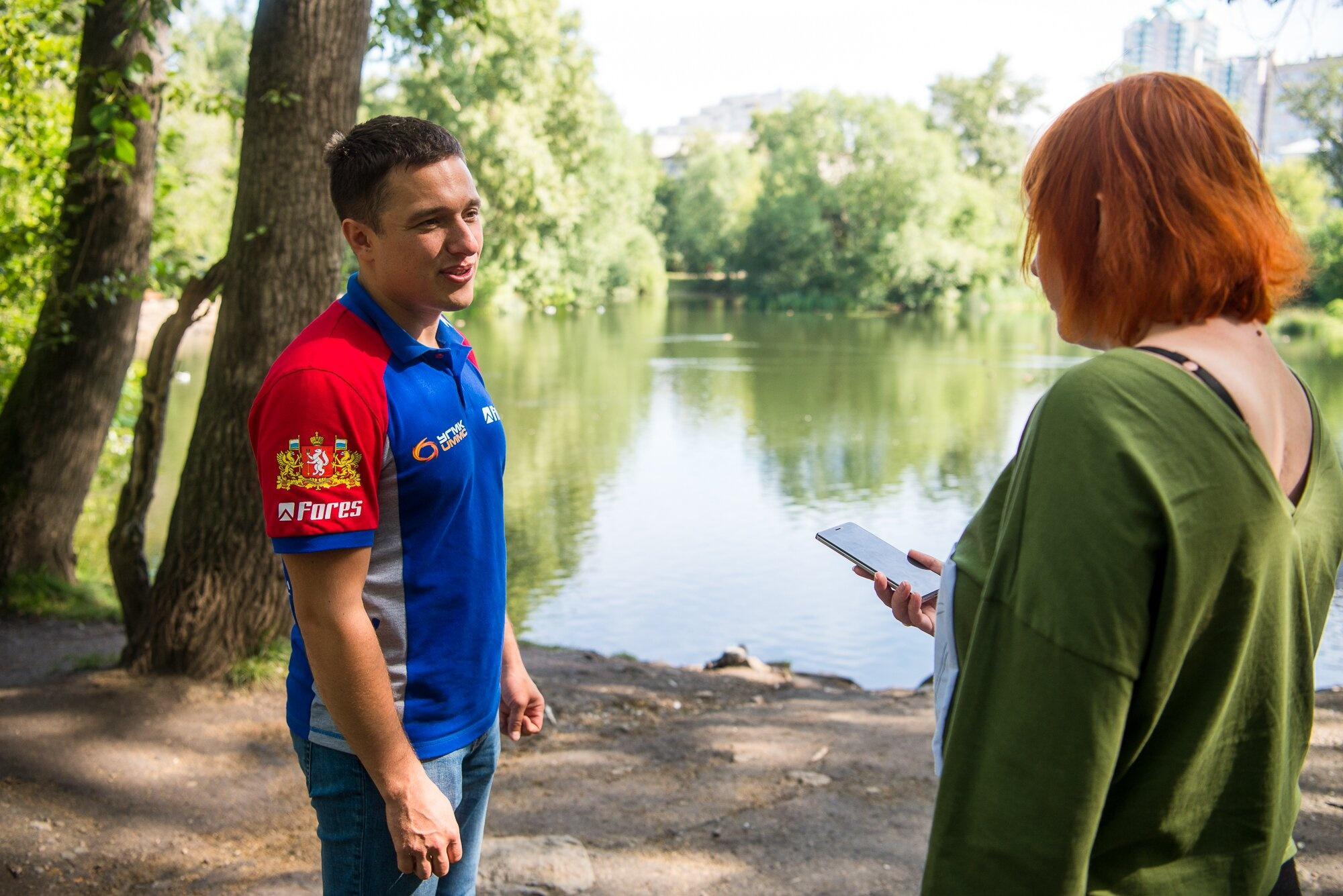 На тренировки Карякина-авиамоделиста в Харитоновском парке приходили посмотреть местные жители