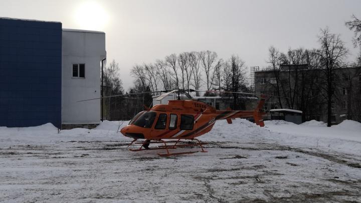В Екатеринбург доставили женщину, которая пострадала во время взрыва на «Русском хроме»