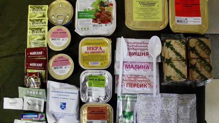 В Самарской области возбудили уголовное дело о краже суточных рационов питания из военной части