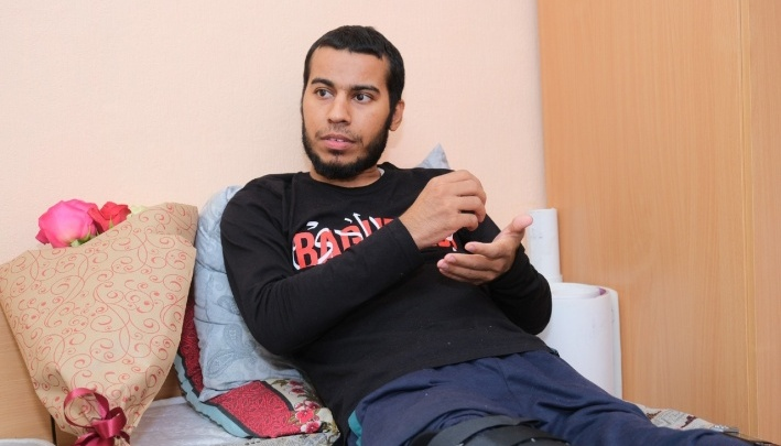 Студент из Ирака, который обгорел на сплаве, останется на лечение в Перми