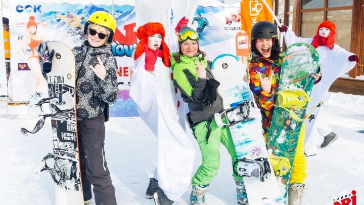 Энергия музыки и спорта: в Самаре лыжники и сноубордисты сразились за «Кубок NRJ»