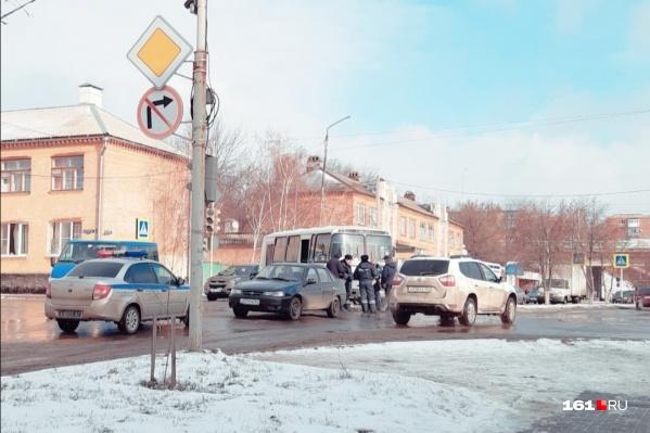 Полицейские очень быстро скрутили Сергея Бондаренко и увезли в отделение