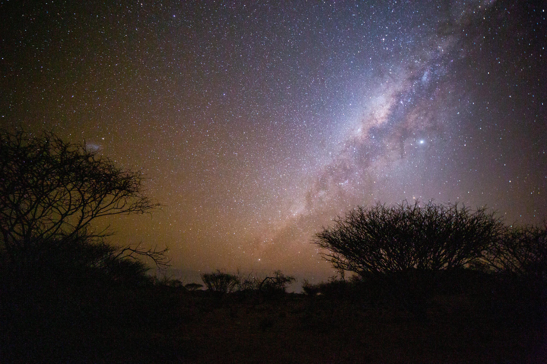 Звёздное небо Африки