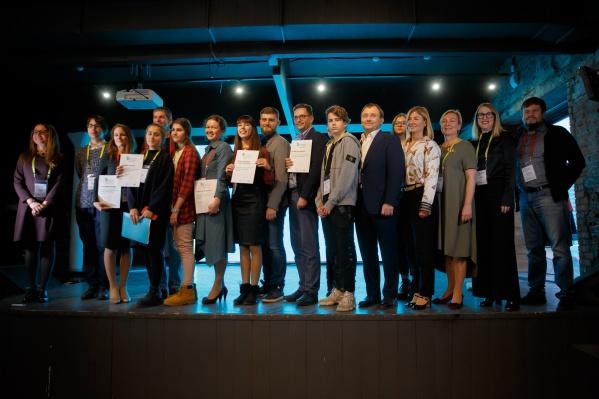 Победители получили по 1,2 млн рублей на воплощение собственных идей в жизнь
