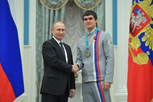 Президент вручил Трегубовумедаль Ордена «За заслуги перед Отечеством» первой степени