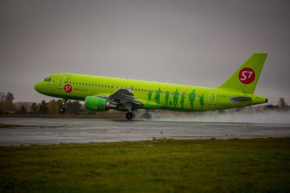 После дозаправки самолёт опять вылетит в Домодедово