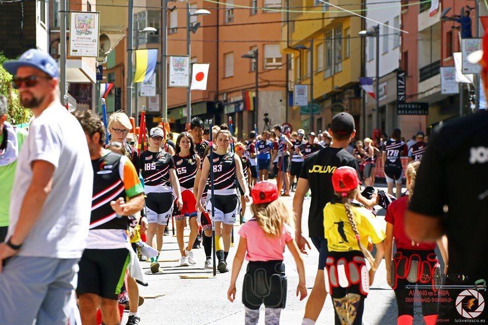 Соревнования проходили в испанском городеВиллаблино