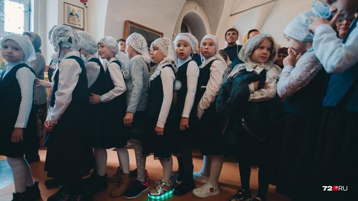 Утренняя молитва перед уроками: как встретили 1 Сентября в православной гимназии