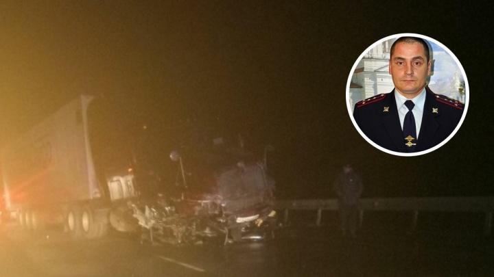 В аварии на тюменской трассе погиб бывший начальник тобольской ГИБДД
