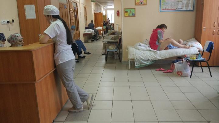 В детской больнице из-за волны ОРЗ стало не хватать коек