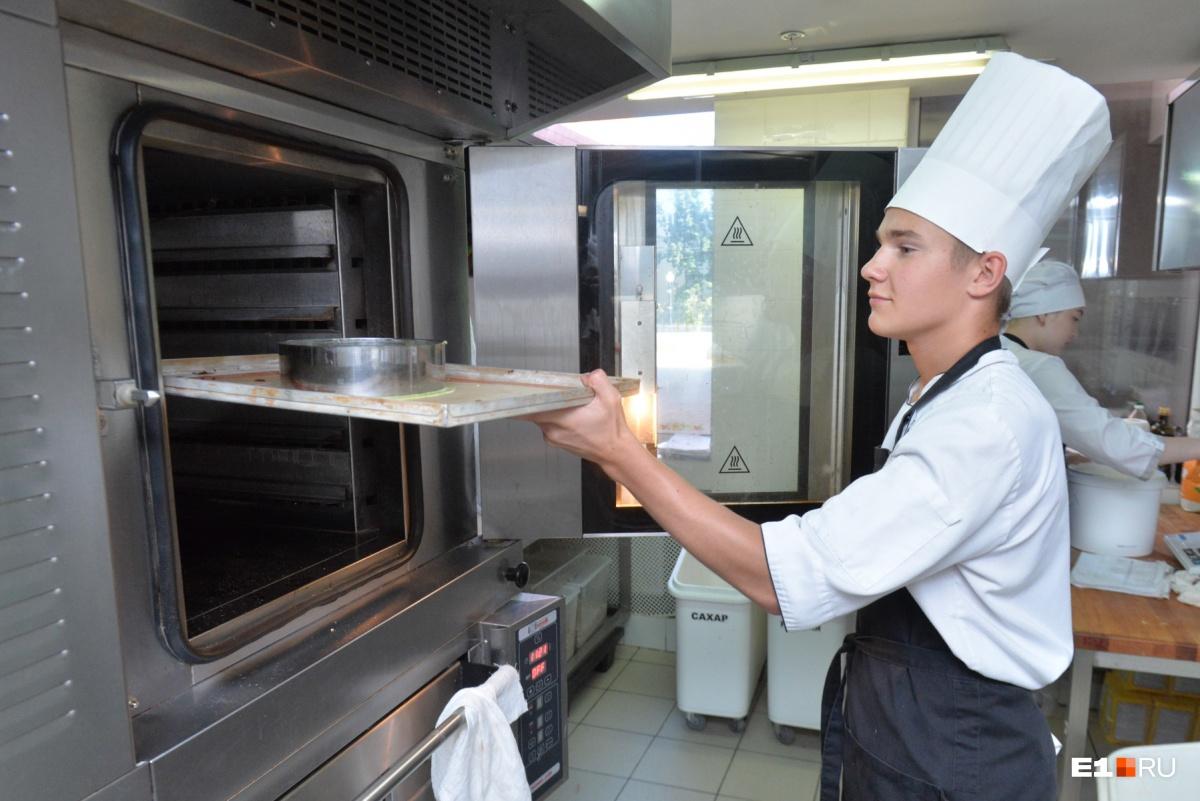 В духовке смесь пробудет 15 минут при температуре 180 градусов