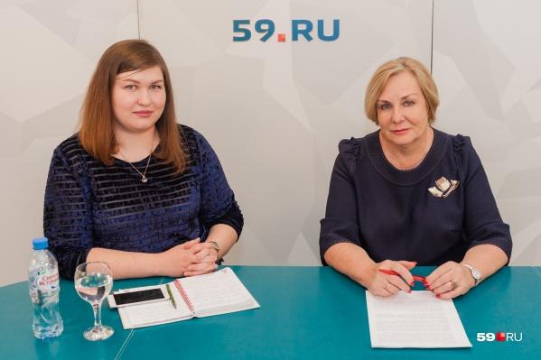 Раиса Кассина ответила на вопросы читателей 59.RU в прямом эфире