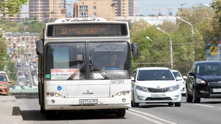 Чиновники искали в Ростове-на-Дону простаивающий на остановках общественный транспорт