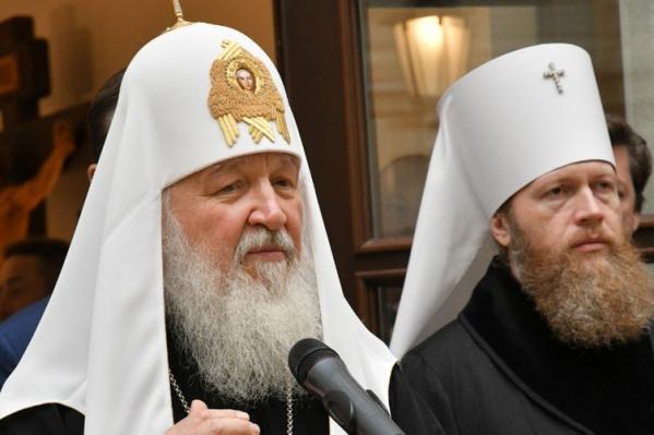 Первый день своего визита в Самарскую область патриарх Кирилл провел в Тольятти